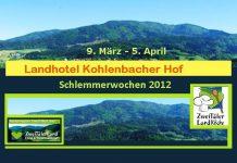 Landhotel Kohlenbacherhof ,Schlemmerwochen 2012, Menü