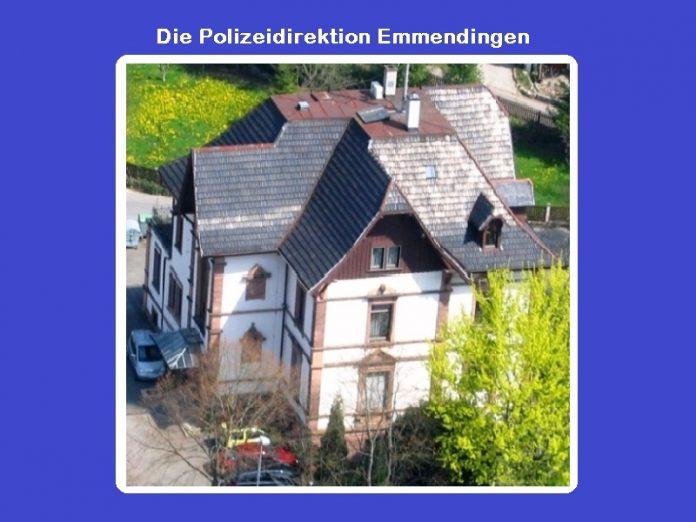 Polizei Emmendingen, Polizeiberichte, News, aktuell, Polizeimeldungen,