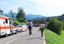 Unfall, B294, Prechtal, 23.9.2012, Polizeibericht, Bild, Foto, news