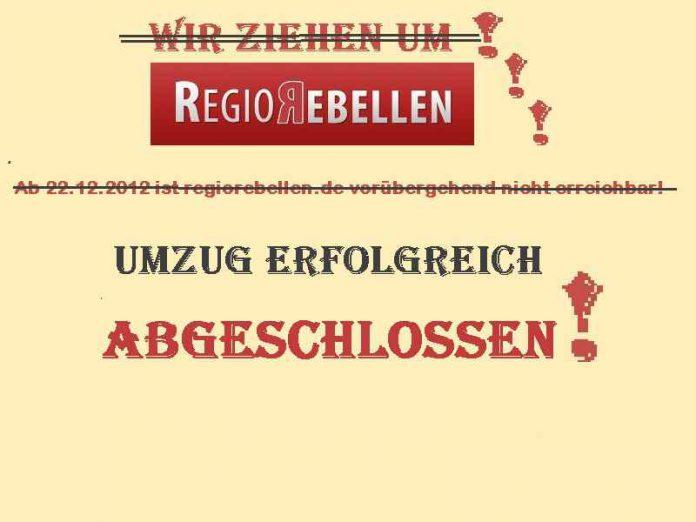 Umzug Regiorebellen