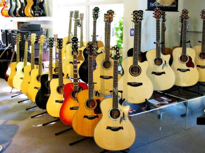 Gitarren, E-Gitarre, Konzertgitarre, Leihinstrument, Elztal, Waldkirch, Freiburg, Breisgau