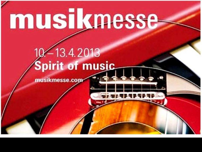 Musikmesse Frankfurt am Main vom 10. bis 13. April 2013