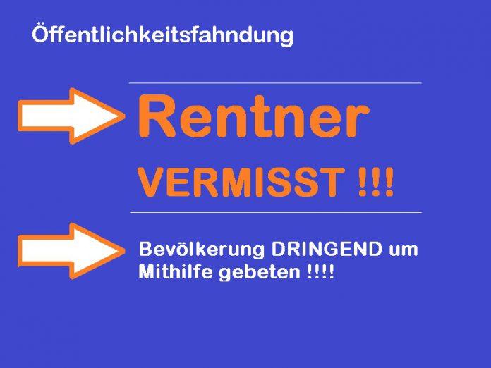 rentner aus waldkirch vermisst, 4.4.2013