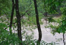hochwasser nach unwetter