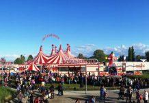Zirkus Charles Knie in Freiburg, Artistik, Show, Gastspiel