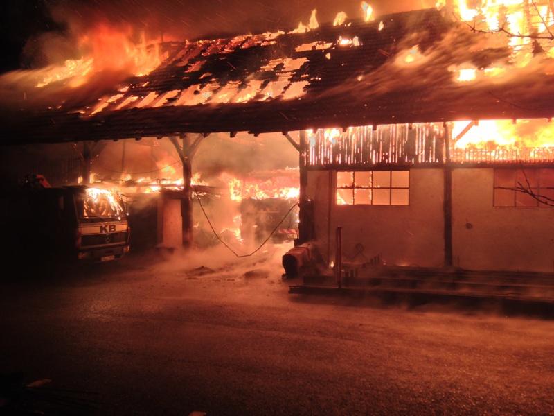 Waldkirch Brand Bei Der Firma Burger War Es Ein