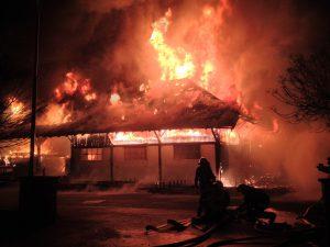 Firma Burger in Waldkirch brennt nieder