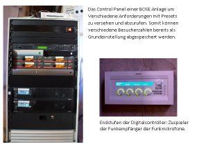 Moderne Beschallungsanlage, Foto: SAM – Sound And More e.K.