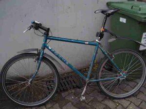 gestohlenes Rad - Bild: Polizei