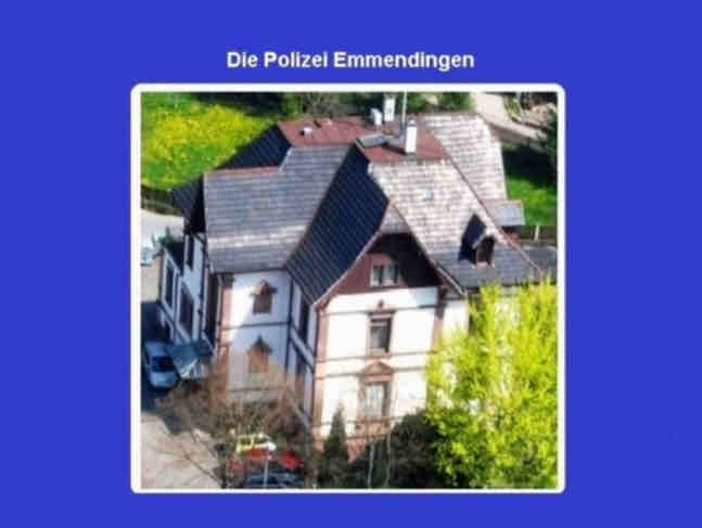 Polizeimeldung für Waldkirch und Emmendingen