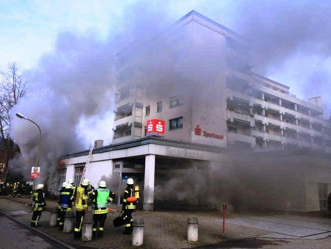 hoher schaden bei Brand eines Kellers in Waldkirch kollnau
