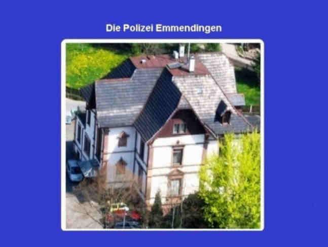 Pressemeldungen der Polizei für Waldkirch und Emmendingen