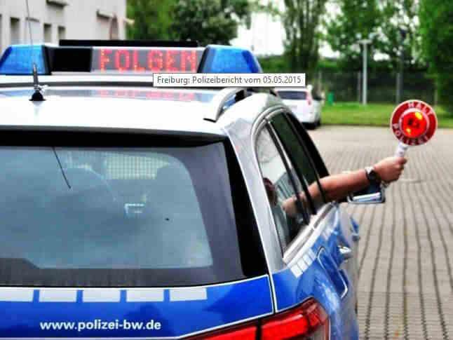 Polizei Freiburg mit tagesaktuellen Meldungen