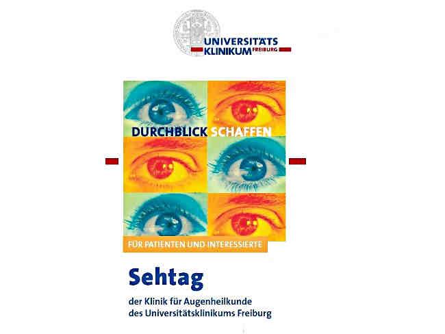 Sehtag in der Augenklinik der Uniklinik Freiburg