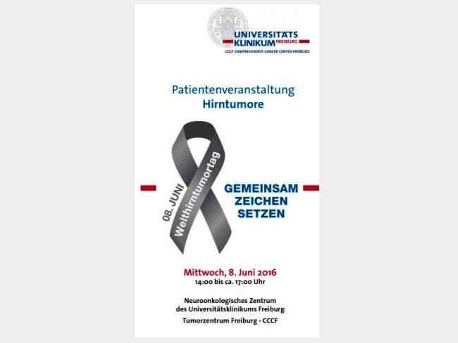 hirntumor informationstag uniklinik freiburg