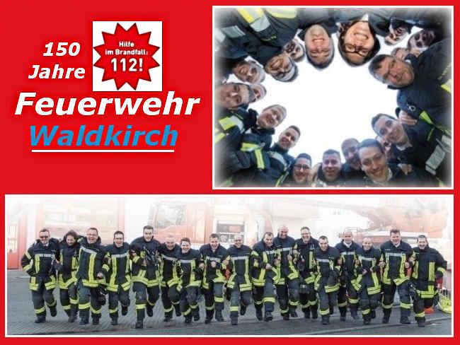 Waldkircher Feuerwehr feiert Jubiläum