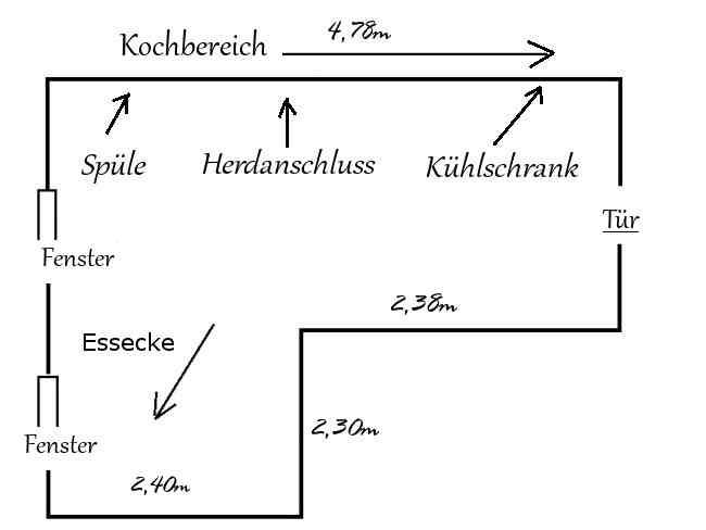 küche planen grundriss