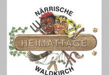 logo närrische heimattage 2018 in waldkirch