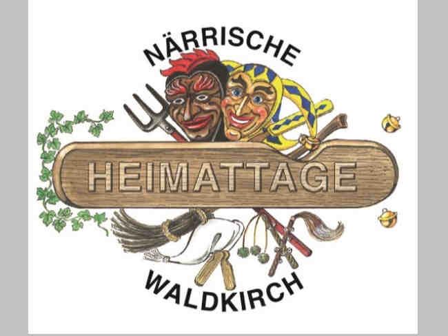 logo närrische heimattage 2018 in waldkirch