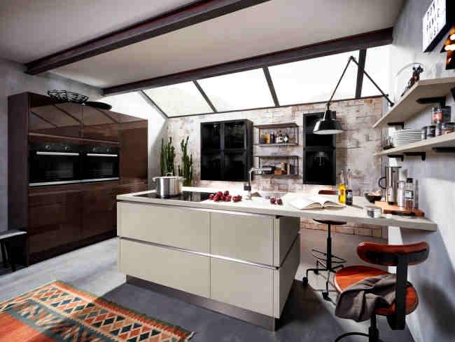 k chentrends 2018 die neuen farben materialien. Black Bedroom Furniture Sets. Home Design Ideas