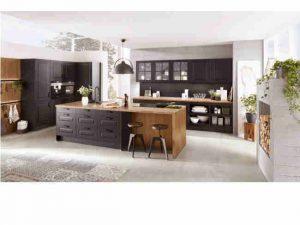 dunkler landhausstil küchen