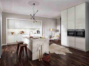 küchentrend mit mamor